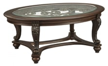 Picture of Norcastle Oval Cocktail Table