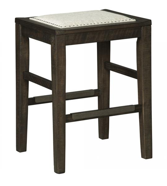 "Picture of Hallishaw 24"" Upholstered Barstool"