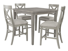 Picture of Parellen 5-Piece Counter Height Dining Set