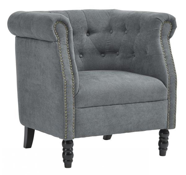 Picture of Jacquelyne Blue Accent Chair