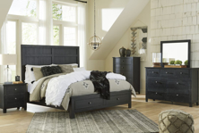 Picture of Noorbrook 6-Piece King Storage Bedroom Set