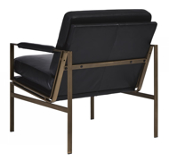Picture of Puckman Black Accent Chair