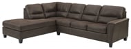 Picture of Navi Chestnut 2-Piece Left Arm Facing Sectional