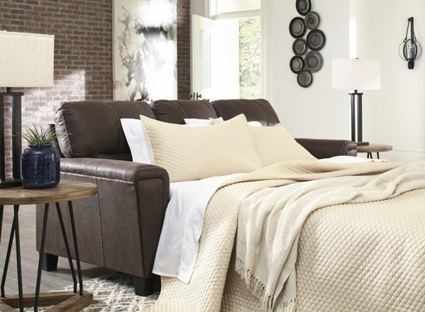 Picture of Navi Chestnut Queen Sofa Sleeper