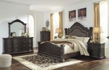 Picture of Wellsbrook 6-Piece Queen Poster Bedroom Set