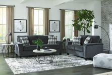 Picture of Abinger Smoke 2-Piece Living Room Set