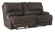 Picture of Kitching Power Reclining Loveseat With Adjustable Headrest