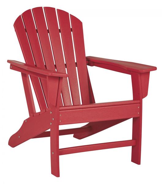 Picture of Sundown Treasure Red Adirondack Chair