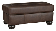 Picture of Bearmerton Leather Ottoman