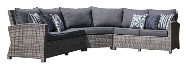 Picture of Salem Beach 3-Piece Outdoor Seating Group