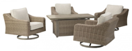 Picture of Beachcroft 5-Piece Outdoor Firepit Set