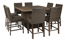 Picture of Paradise Trail 9-Piece Outdoor Dining Set