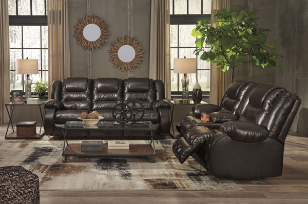 Picture of Vacherie Chocolate 2-Piece Living Room Set