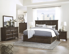 Picture of Johurst 6-Piece King Storage Bedroom Set