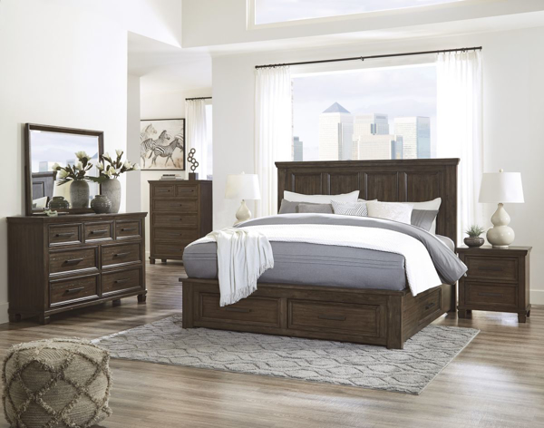Picture of Johurst 6-Piece Queen Storage Bedroom Set