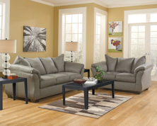 Picture of Darcy Cobblestone 2-Piece Living Room Set