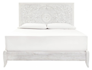 Picture of Paxberry White King Panel Bed