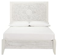 Picture of Paxberry White Full Panel Bed