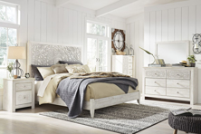 Picture of Paxberry White 6-Piece King Panel Bedroom Set