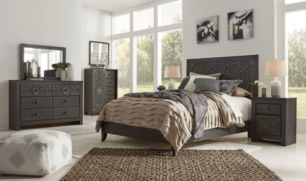 Picture of Paxberry 6-Piece Full Panel Bedroom Set