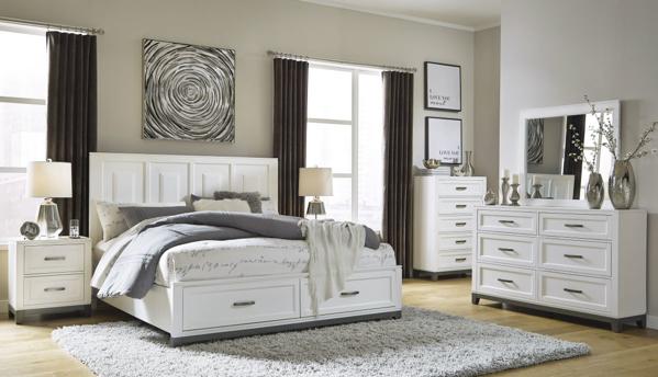 Picture of Brynburg 6-Piece King Storage Bedroom Set