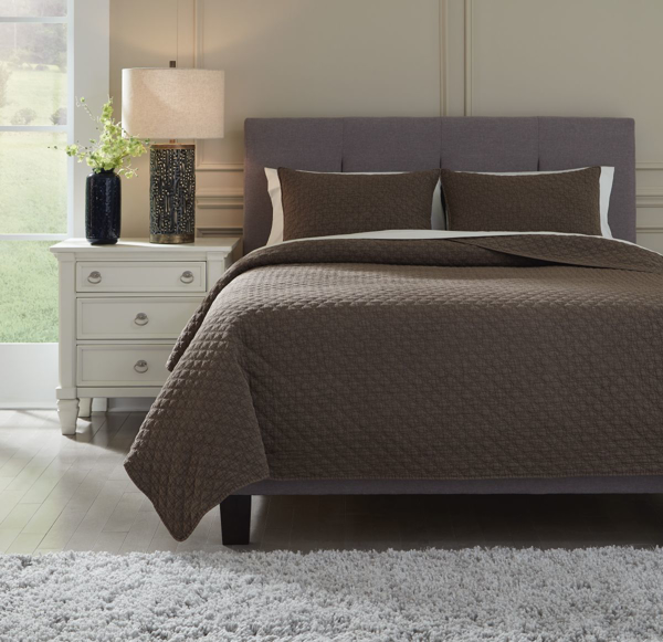 Picture of Ryter Brown King Coverlet Set