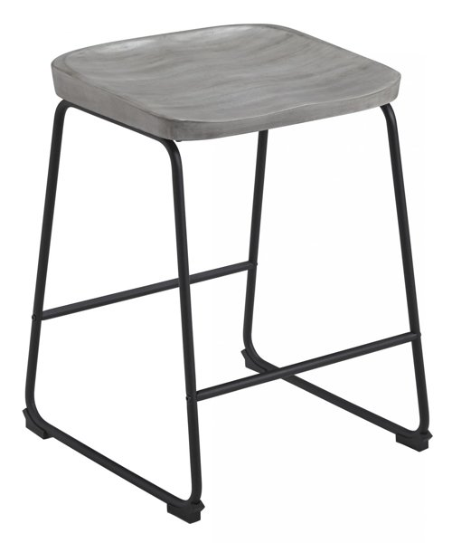 "Picture of Showdell Gray 24"" Barstool"