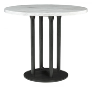 Picture of Centiar Round Counter Height Dining Room Table