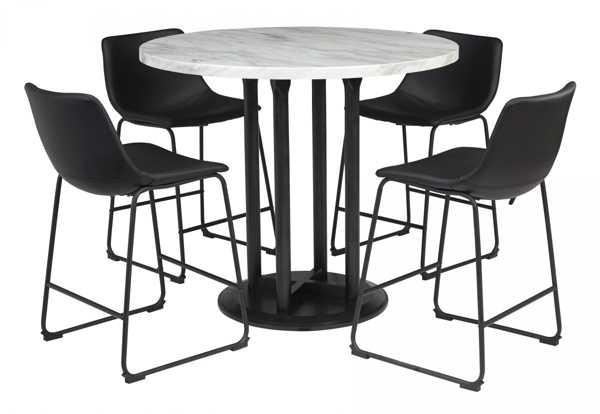 Picture of Centiar 5-Piece Counter Height Dining Room Set