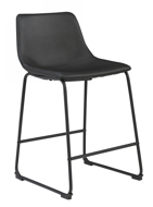 "Picture of Centiar Black 24"" Barstool"