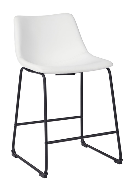"Picture of Centiar White 24"" Barstool"