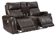 Picture of Team Time Power Reclining Loveseat With Adjustable Headrest
