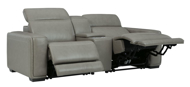 Picture of Correze Power Reclining Loveseat With Console