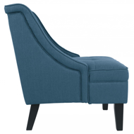 Picture of Clarinda Blue Accent Chair