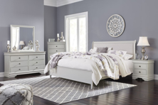 Picture of Jorstad 6-Piece King Sleigh Bedroom Set