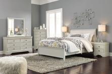 Picture of Jorstad 6-Piece Queen Sleigh Bedroom Set