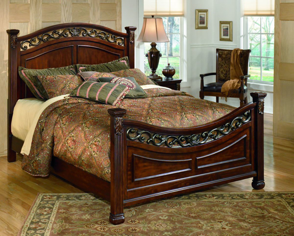 Picture of Leahlyn Panel Bed