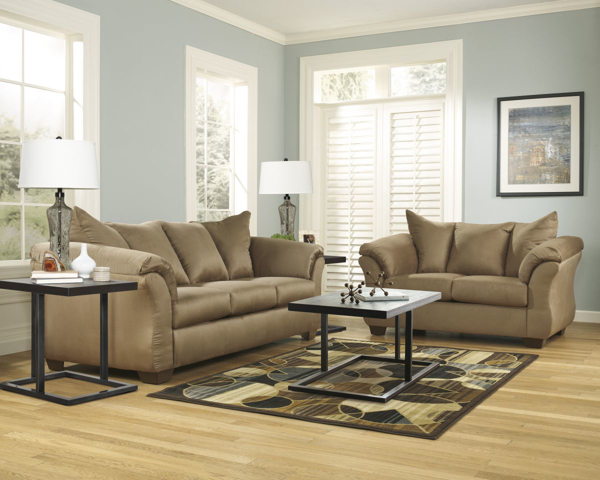 Picture of Darcy Mocha 2-Piece Living Room Set