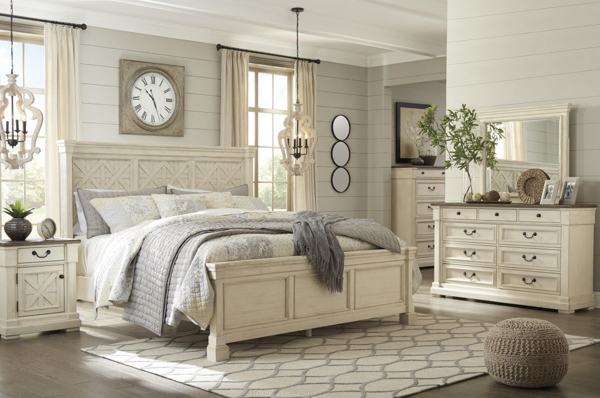 Picture of Bolanburg 6 Piece Panel Bedroom Set
