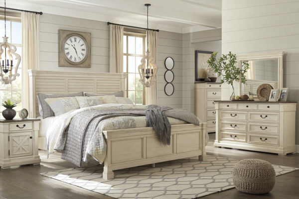 Picture of Bolanburg 6 Piece Louvered Bedroom Set