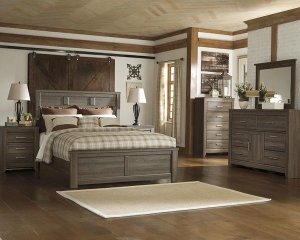 Picture of Juararo 6 Piece Panel Bedroom Set