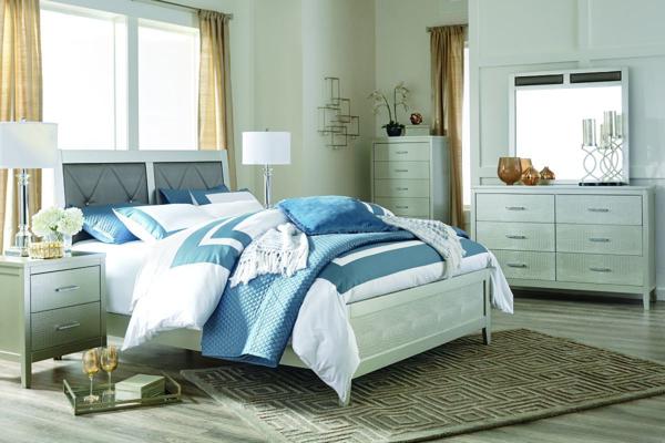 Picture of Olivet 6 Piece Panel Bedroom Set