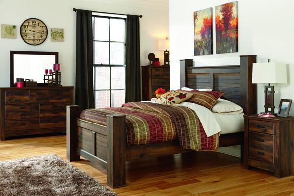 Picture of Quinden 6 Piece Poster Bedroom Set