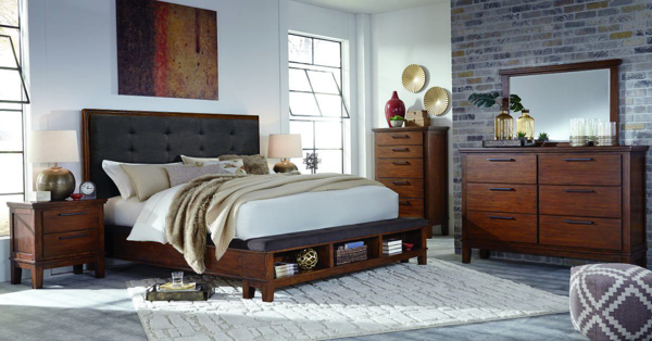 Picture of Ralene 6 Piece Upholstered Bedroom Set