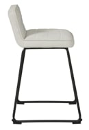 """Picture of Nerison Beige 24"""" Upholstered Barstool"""