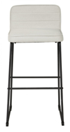 """Picture of Nerison Beige 30"""" Upholstered Barstool"""