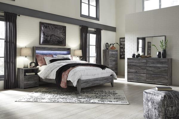 Picture of Baystorm 6-Piece Panel Bedroom Set
