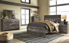 Picture of Wynnlow 6 Piece Panel Bedroom Set