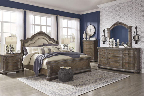 Picture of Charmond 6 Piece Sleigh Bedroom