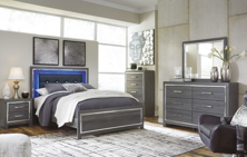 Picture of Lodanna 6 Piece Panel Bedroom Set